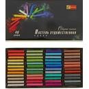"""Пастель сухая художественная Спектр """"Северное Сияние"""" 48 цветов"""