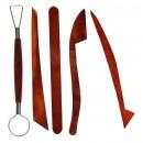 Набор инструментов для лепки, 5 предметов 1099989