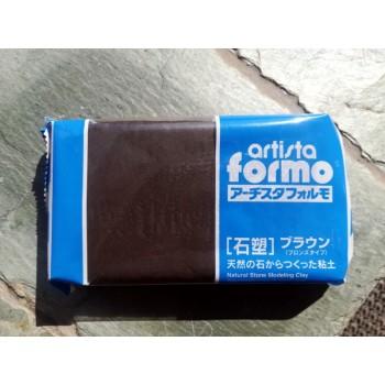 Самозастывающая глина Artista Formo 500 гр. черная Padico