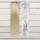 Волосы - тресс для кукол 'Прямые' длина волос 25 см, ширина 100 см, цвет № 88  2294911