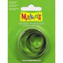 Каттеры для полимерной глины Makins круг