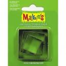 Каттеры для полимерной глины Makins  квадрат