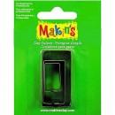 Каттеры для полимерной глины Makins прямоугольник