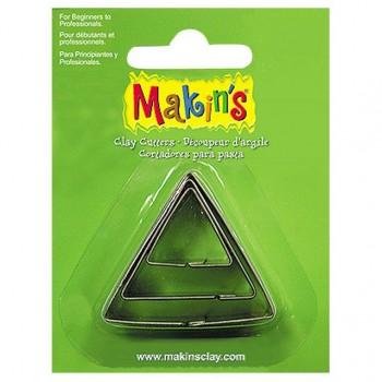 Каттеры для полимерной глины Makins треугольник