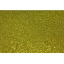 Фоамиран глиттерный золотой, 20x30 см.,толщина 2 мм (GEVA009)