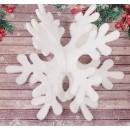"""Основа для творчества и декорирования """"Снежинка 3D"""", 30*30 см, с подвесом (2277659)"""
