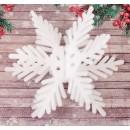 """Основа для творчества и декорирования """"Снежинка 3D"""", 30*30 см, с подвесом (2277660)"""
