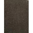 Фоамиран плюшевый черный, 20x30 см.,толщина 2 мм