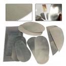 Набор инструментов для глины, скребки, ножи 10шт.