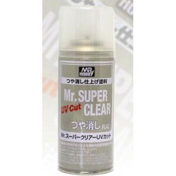 Лак Mr. Super Clear UV Cut Flat матовый с UV-фильтром АКЦИЯ!!!