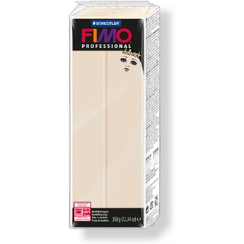 Пластика - полимерная глина FIMO Professional Doll art  454гр полупрозрачный бежевый (8071-44)
