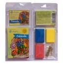 """Набор пластики с фурнитурой и инструкцией """"Коллекция Цветы. Лаванда"""""""