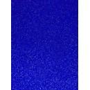 Фоамиран глиттерный синий, 20x30 см.,толщина 2 мм (H076)
