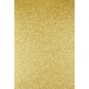 Фоамиран глиттерный золото светлое, 20x30 см.,толщина 2 мм (H026)