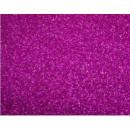 Фоамиран глиттерный фуксия, 20x30 см.,толщина 2 мм (015)