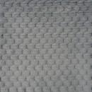 Мех 'Фактурный-СОТЫ' 50см*50см (+/-1,0см), цв.серый 25746