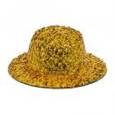 Шляпка для игрушек с блестками, 8см