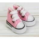 Кеды для кукол, длина стопы 3,8 см, цвет розовый 3785797