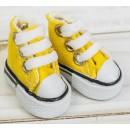 Кеды для кукол, длина стопы 3,8 см, цвет желтый 3785796