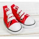 Кеды для кукол, длина стопы 5 см, цвет красный 3785816