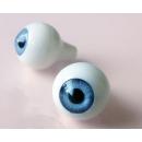 Глазки для кукол,серо-голубые(сфера) 16 мм