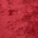 Плюш винтажный  50см*50см красный
