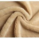 Мех искусственный, размер 40*50 см, цвет песочный 4161660