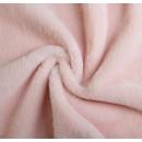 Мех искусственный, размер 40*50 см, цвет пудрово-розовый 4161664