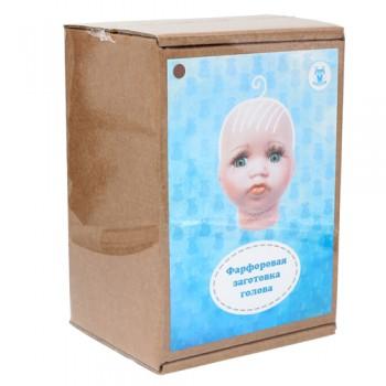 Фарфоровая заготовка №3 'Голова для малыша': гл.-карие 27034
