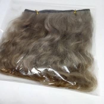 Волосы для кукол натуральные цвет: русый