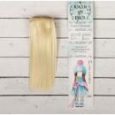"""Волосы - тресс для кукол """"Прямые"""" длина волос 15 см, ширина 100 см, цвет № 613А 2294860"""