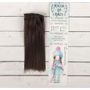 """Волосы - тресс для кукол """"Прямые"""" длина волос 15 см, ширина 100 см, цвет № 4А 2294869"""