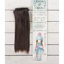 """Волосы - тресс для кукол """"Прямые"""" длина волос 15 см, ширина 100 см, цвет № 10 2294863"""