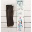 """Волосы - тресс для кукол """"Прямые"""" длина волос 15 см, ширина 100 см, цвет № 8 2294864"""