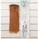 Волосы - тресс для кукол «Прямые» длина волос: 15 см, ширина:100 см, цвет № 27А 2294871