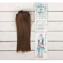 """Волосы - тресс для кукол """"Прямые"""" длина волос 15 см, ширина 100 см, цвет № 9 2294876"""