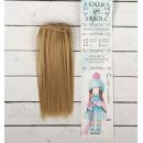 """Волосы - тресс для кукол """"Прямые"""" длина волос 15 см, ширина 100 см, цвет № 16 2294881"""