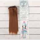 Волосы - тресс для кукол «Прямые» длина волос: 15 см, ширина: 100 см, цвет № 30А 2294888