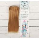 Волосы - тресс для кукол «Прямые» длина волос: 15 см, ширина: 100 см, цвет № 28 2294890