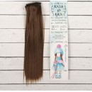 """Волосы - тресс для кукол """"Прямые"""" длина волос 25 см, ширина 100 см, цвет № 9 2294917"""