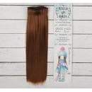 """Волосы - тресс для кукол """"Прямые"""" длина волос 25 см, ширина 100 см, цвет № 12 2294927"""