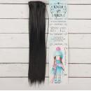 """Волосы - тресс для кукол """"Прямые"""" длина волос 25 см, ширина 100 см, цвет №1 2294930"""