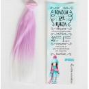"""Волосы - тресс для кукол """"Прямые"""" длина волос 20 см, ширина 100 см,3588486"""