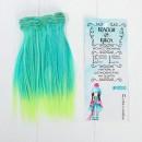 """Волосы - тресс для кукол """"Прямые"""" длина волос 15 см, ширина 100 см 3588444"""