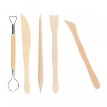 Набор инструментов для лепки, 5 предметов (1099987)