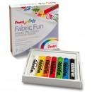 Пастель для ткани Pentel FabricFun Pastels, 7 цветов (1416822)