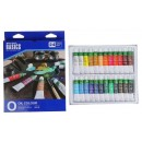 Краски масляные 24 цвета в металлической тубе 12мл (2397331)