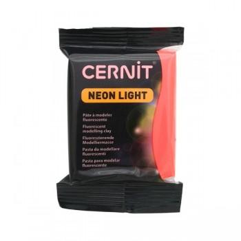 Пластика Cernit 'NEON' неоновый 56 гр. 400 неон-красный