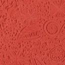 Текстурный лист CERNIT резиновый 9х9 см Цветы (CE95005)