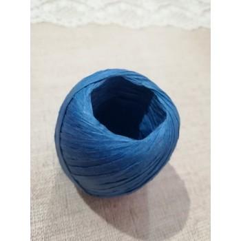 Рафия бобина 20м, синяя